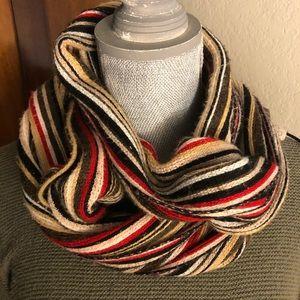 Beautiful colorful Echo fringe scarf